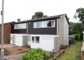 Thumbnail 3 bed end terrace house for sale in Lexwell Avenue, Elderslie, Johnstone, Renfrewshire