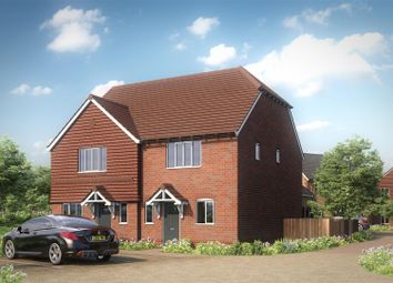 Thumbnail 3 bed semi-detached house for sale in Coleshall Gate, Iwade, Sittingbourne