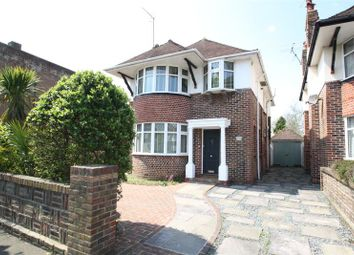 Thumbnail 3 bed detached house for sale in George V Avenue, West Worthing, West Sussex