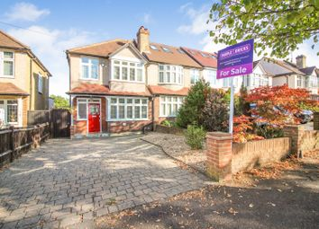 Thumbnail 3 bed end terrace house for sale in Bridgewood Road, Worcester Park