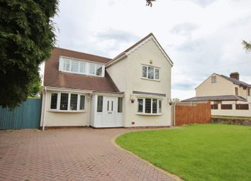 Thumbnail 4 bed detached house for sale in Mill Hill Road, Irby, Wirral