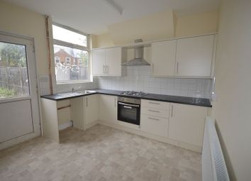 Thumbnail 3 bed terraced house to rent in Frisby Road, Leicester
