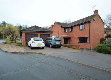 Thumbnail 4 bed detached house for sale in Tanwood Close, Callow Hill, Redditch
