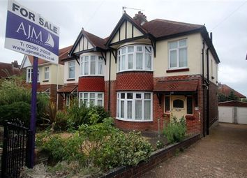 Thumbnail 3 bed semi-detached house for sale in Collville Road, East Cosham, Portsmouth, Hampshire