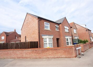 Thumbnail 4 bed detached house for sale in Ploughmans Lane, Lincoln