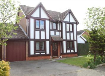 Thumbnail 4 bed detached house for sale in Peacock Street, Grange Farm, Kesgrave, Ipswich