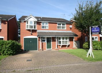Thumbnail 4 bed detached house to rent in Brookfield Close, Tarporley