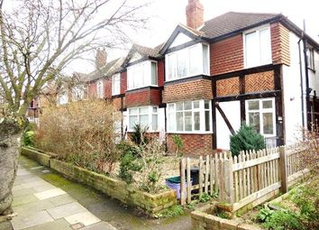 Thumbnail 2 bed flat to rent in Abbott Avenue, West Wimbledon, London
