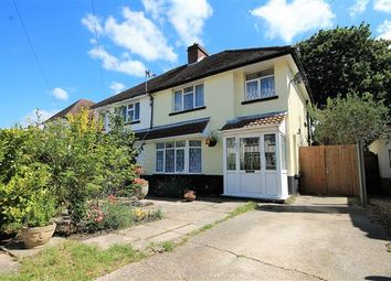 Thumbnail 3 bed semi-detached house for sale in Earlham Drive, Parkstone, Poole