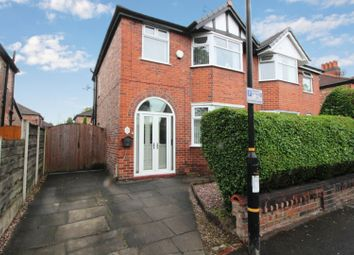 Thumbnail 3 bed semi-detached house for sale in Ravenswood Road, Stretford, Manchester, Greater Manchester