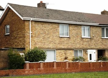 Thumbnail 2 bed semi-detached house for sale in Whitefield Crescent, Pegswood, Morpeth