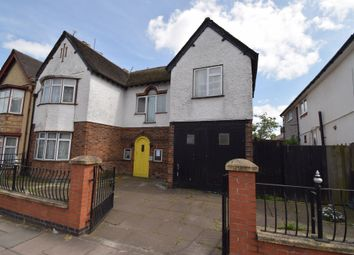 Thumbnail 4 bed town house for sale in East Park Road, Evington, Leicester