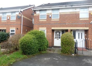 Thumbnail 2 bed end terrace house for sale in Montonmill Gardens, Eccles, Manchester