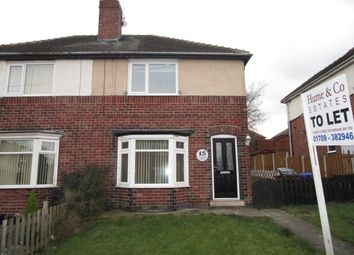 Thumbnail 2 bed semi-detached house to rent in Woodlands Avenue, Beighton