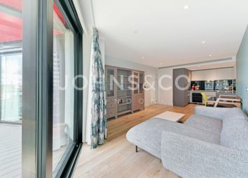 Thumbnail 2 bedroom flat to rent in Riverlight Quay, London
