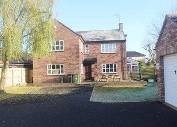 Thumbnail 4 bed detached house for sale in Hall Lane, West Winch, King's Lynn