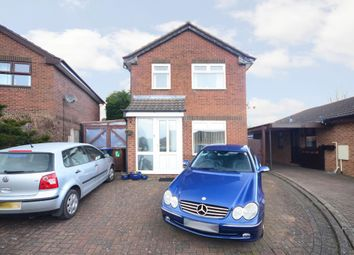Thumbnail 3 bed detached house for sale in Sandown Close, Cheadle