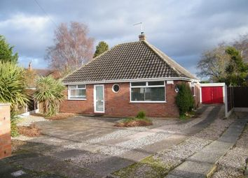 Thumbnail 2 bed bungalow for sale in Ashlea Drive, Willaston, Nantwich, Cheshire