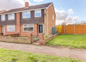Thumbnail 3 bed semi-detached house for sale in Rampley Close, Little Paxton, St. Neots