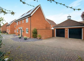 Thumbnail 4 bed detached house for sale in Windsor Park Gardens, Norwich