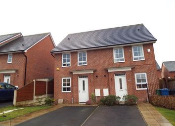 Thumbnail 2 bed semi-detached house for sale in Lodge Close, Radcliffe, Manchester, Greater Manchester