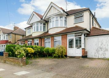 Thumbnail 3 bed semi-detached house for sale in Woodberry Avenue, North Harrow, Middlesex