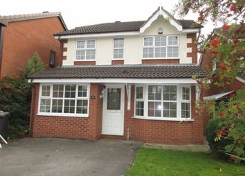 Thumbnail 4 bed detached house for sale in Moreton Drive, Leigh