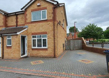 Thumbnail 3 bed end terrace house to rent in Mill Burn Way, Birmingham