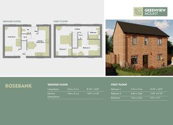 Thumbnail 2 bedroom semi-detached house for sale in Brander Road, Gipton, Leeds