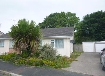 Thumbnail 2 bed semi-detached bungalow to rent in East Fairholme Road, Bude