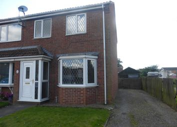 Thumbnail 2 bed terraced house for sale in Johnsons Lane, Crowle, Scunthorpe