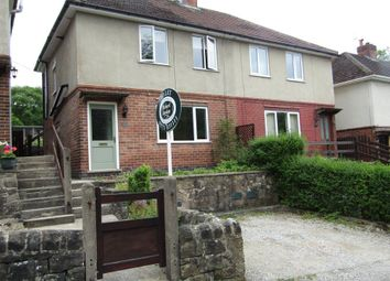 Thumbnail 3 bed semi-detached house to rent in Lea Road, Lea Bridge, Matlock