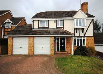Thumbnail 4 bed detached house for sale in Rowley Way, Kingsthorpe, Northampton