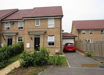 Thumbnail 3 bedroom end terrace house for sale in Sandpiper Close, Hatfield