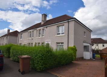 Thumbnail 2 bed flat for sale in Carlibar Avenue, Glasgow