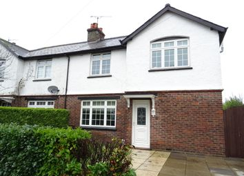 Thumbnail 3 bed detached bungalow for sale in St Peters Road, Old Woking