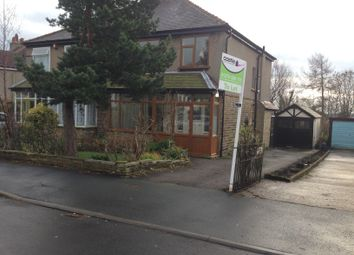 Thumbnail 3 bedroom semi-detached house to rent in Wheatlands Grove, Bradford