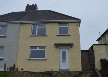 Thumbnail 3 bed semi-detached house to rent in Olive Branch Crescent, Neath