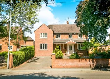 Thumbnail 4 bedroom detached house for sale in Crewe Road, Nantwich