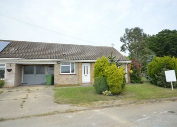 Thumbnail 2 bed semi-detached bungalow for sale in Church View, Church Road, Welborne, Dereham