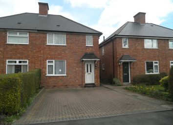 Thumbnail 2 bed semi-detached house to rent in Jerome Road, Sutton Coldfield