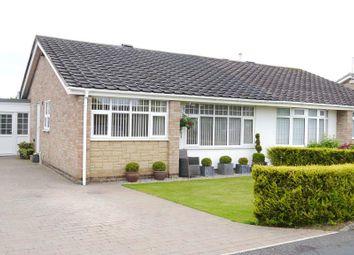Thumbnail 2 bedroom semi-detached bungalow for sale in The Winding, Dinnington Green, Dinnington, Newcastle Upon Tyne