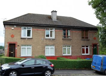 Thumbnail 2 bed flat for sale in Pitlochry Drive, Cardonald