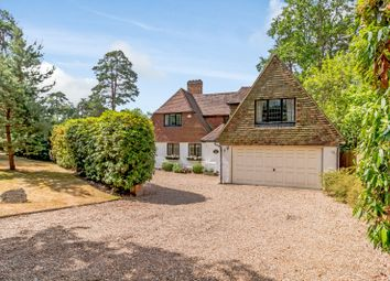 Thumbnail 3 bed detached house to rent in Golf Club Road, St. Georges Hill, Weybridge