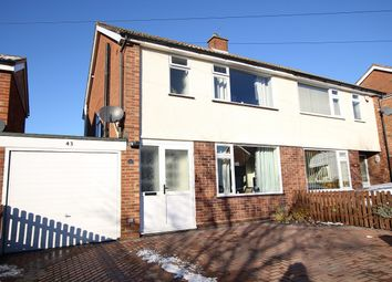 Thumbnail 3 bed semi-detached house for sale in Aldercroft Road, Ipswich, Suffolk