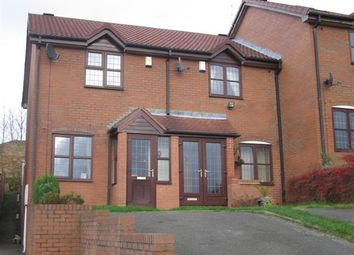 Thumbnail 2 bed terraced house to rent in Rubens Close, Dudley