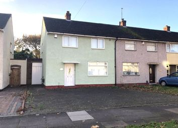 Thumbnail 2 bed terraced house for sale in Brook Meadow Road, Shard End, Birmingham