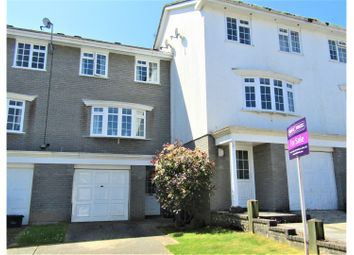 Thumbnail 3 bedroom town house for sale in Holly Water Close, Wellswood, Torquay