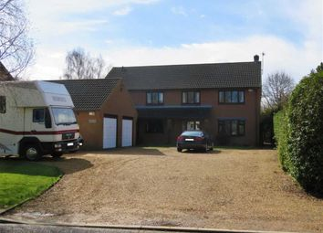 Thumbnail 5 bed detached house for sale in Knights End Road, Knights End, March