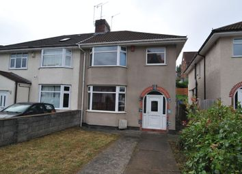 Thumbnail 3 bedroom semi-detached house for sale in Airport Road, Hengrove, Bristol